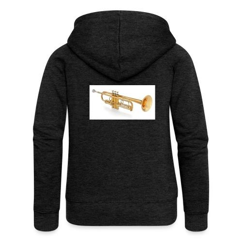 the trumpet - Frauen Premium Kapuzenjacke