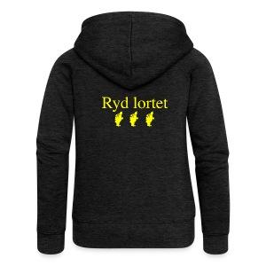 Ryd Lortet - Dame Premium hættejakke