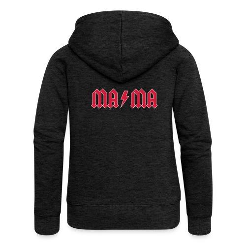 music mama 01 - Frauen Premium Kapuzenjacke