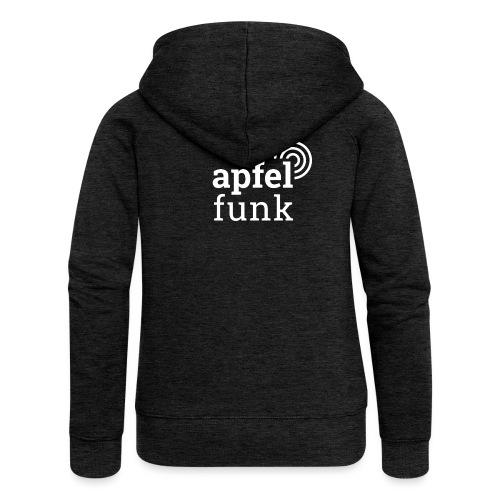 Apfelfunk Dark Edition - Frauen Premium Kapuzenjacke