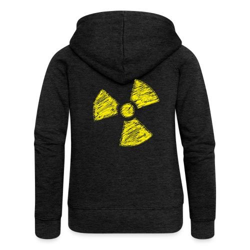 Radioactive - Vrouwenjack met capuchon Premium