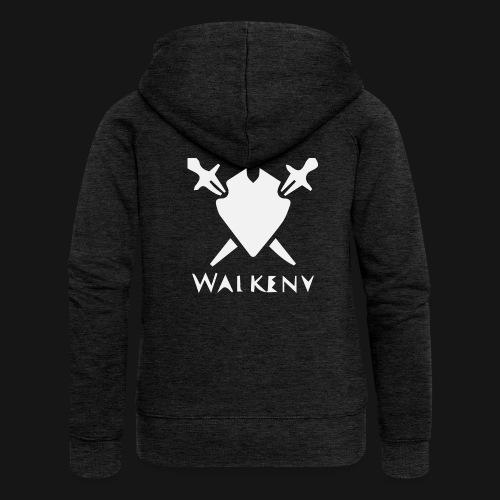 Walkeny Schwert Logo! - Frauen Premium Kapuzenjacke