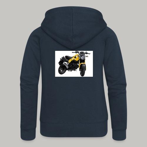 Grom Motorcycle (Monkey Bike) - Women's Premium Hooded Jacket