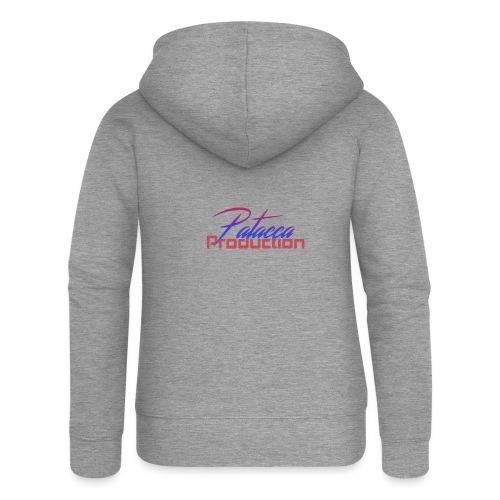 PATACCA PRODUCTION - Felpa con zip premium da donna