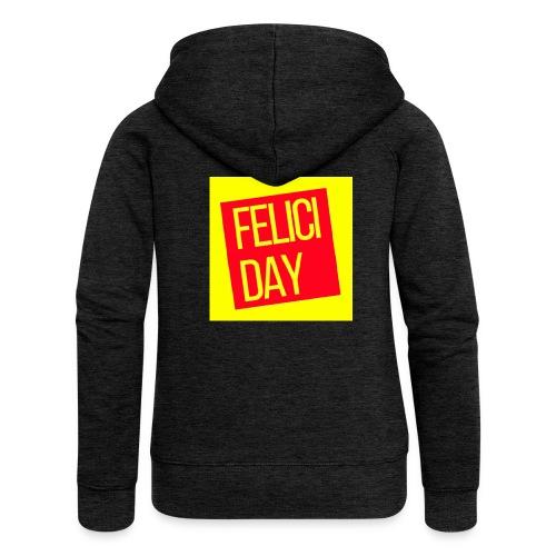 Feliciday - Chaqueta con capucha premium mujer