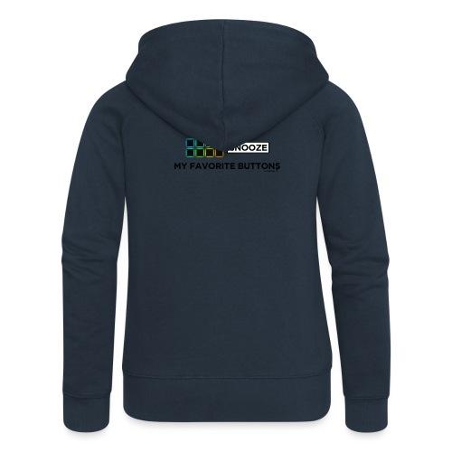 Snooze + Phantom Buttons // Kaskobi - Women's Premium Hooded Jacket
