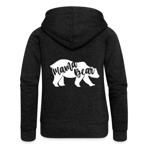 Mama Bear - für Eltern-Baby-Partnerlook - Frauen Premium Kapuzenjacke