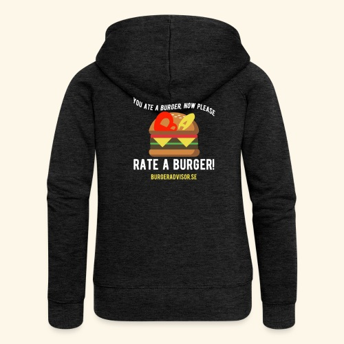 You ate a burger edition - Women's Premium Hooded Jacket