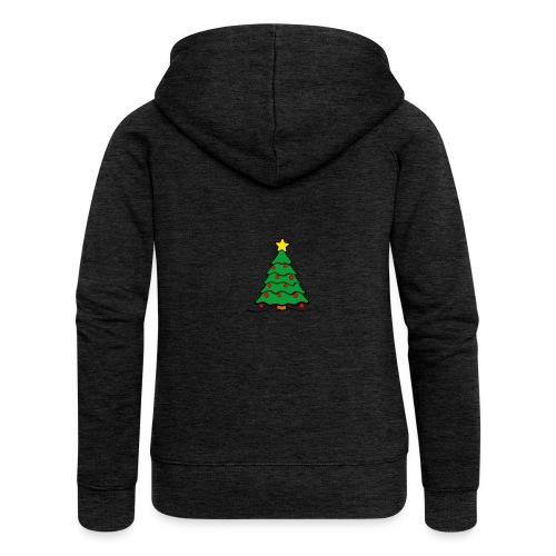 Christmas-Tree - Frauen Premium Kapuzenjacke