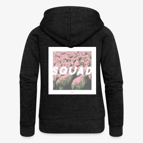 SQUAD #01 - Frauen Premium Kapuzenjacke