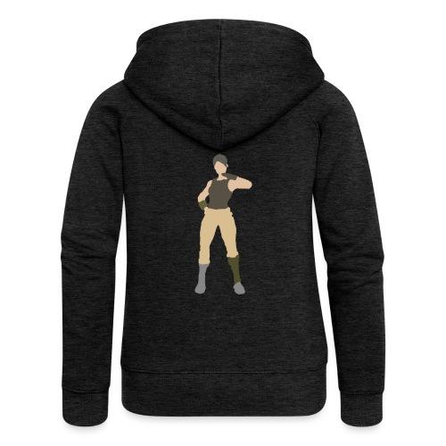 Battle Royale - Rozpinana bluza damska z kapturem Premium