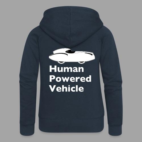 Quattrovelo Human Powered Vehicle white - Naisten Girlie svetaritakki premium