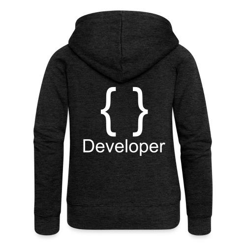 Developer - Frauen Premium Kapuzenjacke