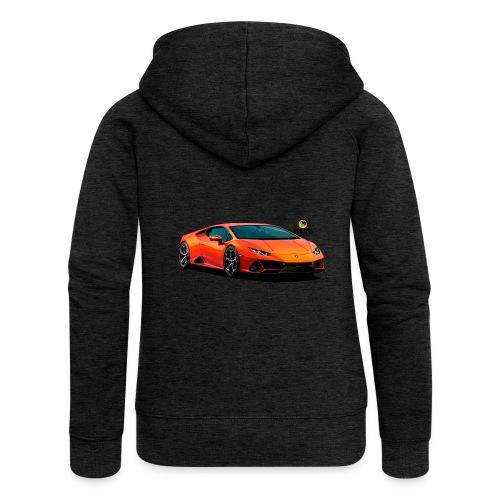 Luxurious car - Women's Premium Hooded Jacket