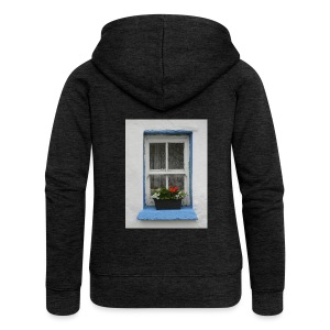 Cashed Cottage Window - Women's Premium Hooded Jacket