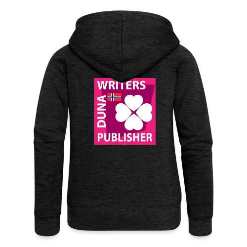Duna Writers Publisher Pink - Premium hettejakke for kvinner