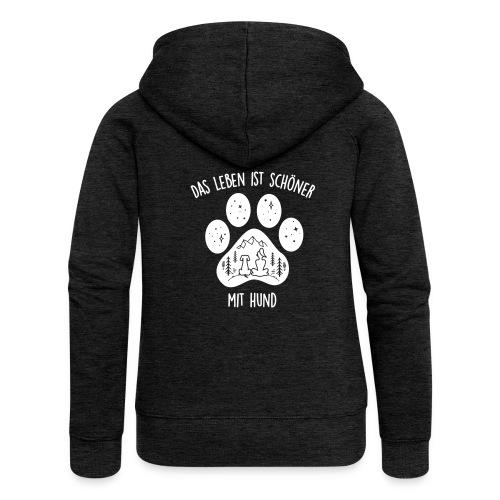 Vorschau: Leben mit Hund - Frauen Premium Kapuzenjacke