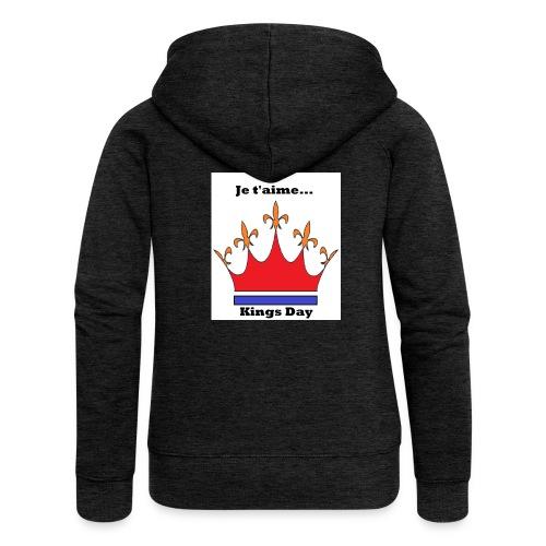 Je taime Kings Day (Je suis...) - Vrouwenjack met capuchon Premium