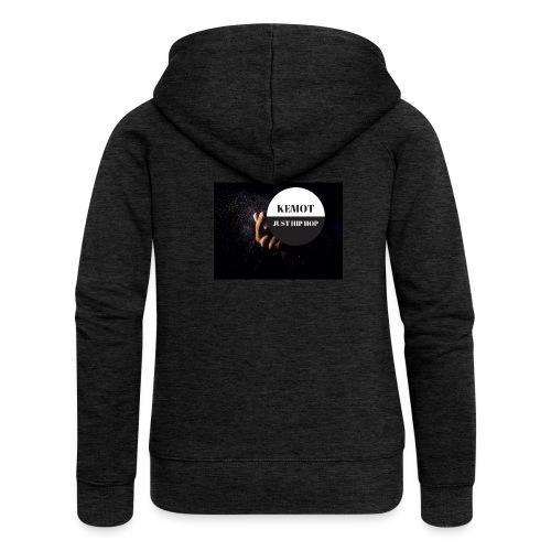 KeMoT odzież limitowana edycja - Rozpinana bluza damska z kapturem Premium
