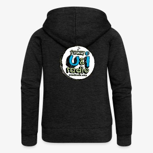 U & I Logo - Women's Premium Hooded Jacket