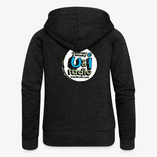 U & I Logo - Women's Premium Hooded Jacket