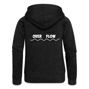Over Flow - Women's Premium Hooded Jacket