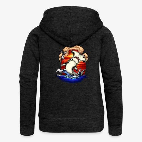Roi de l'océan - Veste à capuche Premium Femme