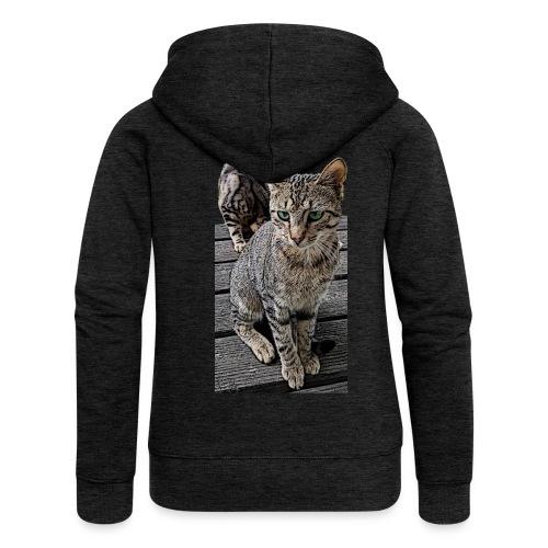 Cats - Frauen Premium Kapuzenjacke
