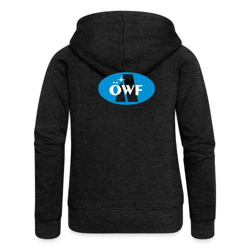 ÖWF Logo groß - Frauen Premium Kapuzenjacke