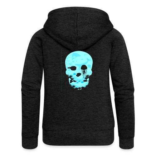 Dead Sea Tshirt ✅ - Frauen Premium Kapuzenjacke