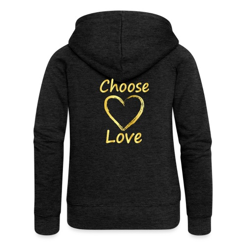 Love - Women's Premium Hooded Jacket