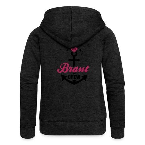 JGA T-Shirt - Team Braut - Braut Crew - Braut - Frauen Premium Kapuzenjacke
