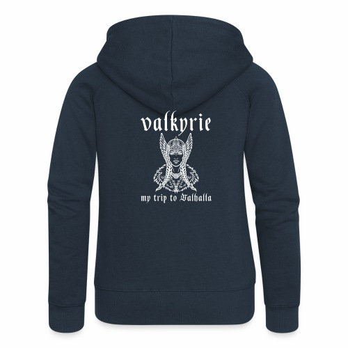 Valkyrie to Valhalla - Chaqueta con capucha premium mujer