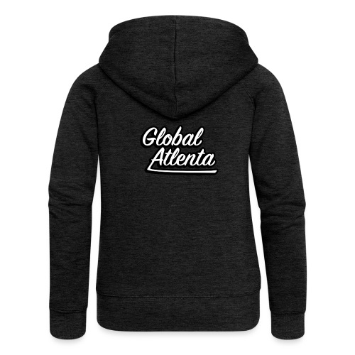 DJ Global Atlenta - Veste à capuche Premium Femme