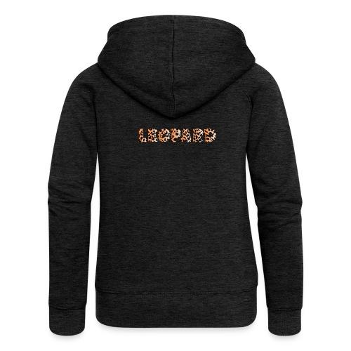 leopard 1237253 960 720 - Frauen Premium Kapuzenjacke