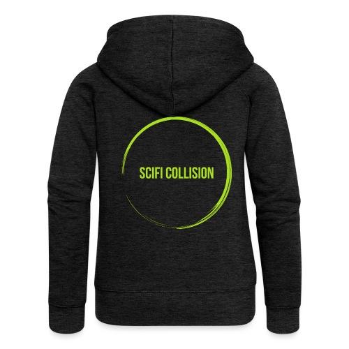 Lime Green SC Logo - Women's Premium Hooded Jacket