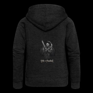 Life is Feudal Steam Badge 1 - Veste à capuche Premium Femme