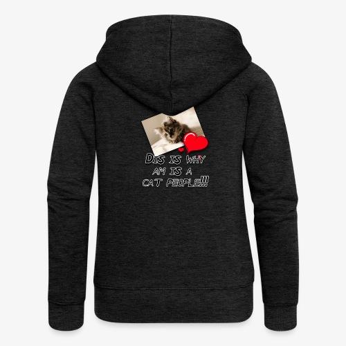 CatPeople - Women's Premium Hooded Jacket