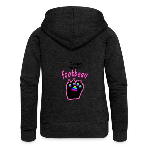 I'd pay to be a footbean - Women's Premium Hooded Jacket