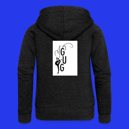 GUG logo - Frauen Premium Kapuzenjacke