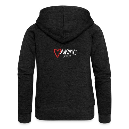 Heart Anime 2 - Women's Premium Hooded Jacket