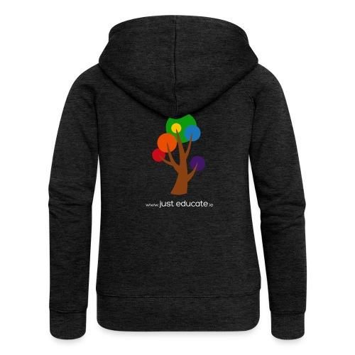 Just Educate.ie - Women's Premium Hooded Jacket