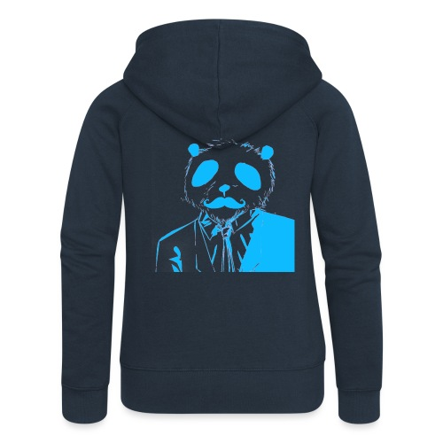 BluePanda Logo - Women's Premium Hooded Jacket