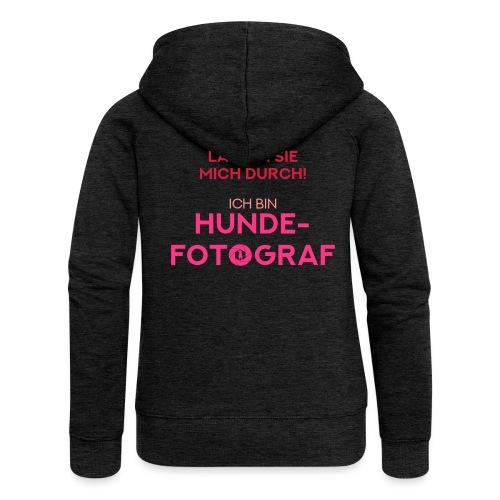 Hunde-Fotograf Fotografin Geschenkidee Design Hund - Frauen Premium Kapuzenjacke