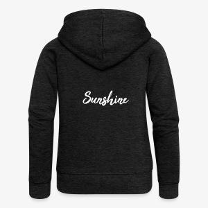 Sunshine - Veste à capuche Premium Femme