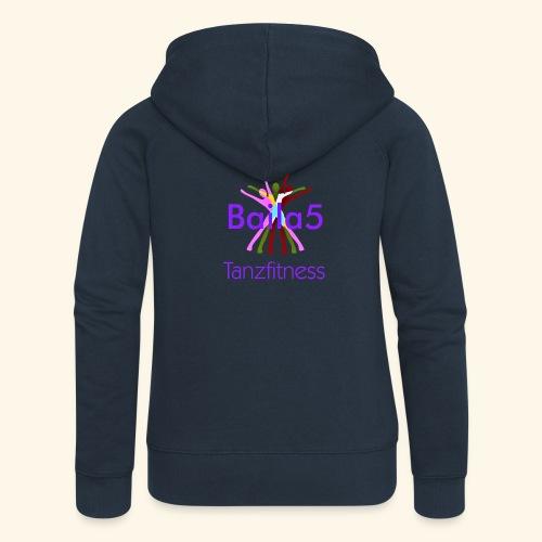 Baila5 Tanzfitness violet - Frauen Premium Kapuzenjacke