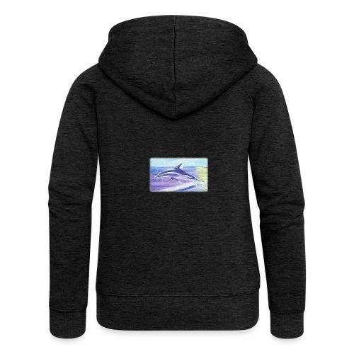 Engel der Meere - Frauen Premium Kapuzenjacke