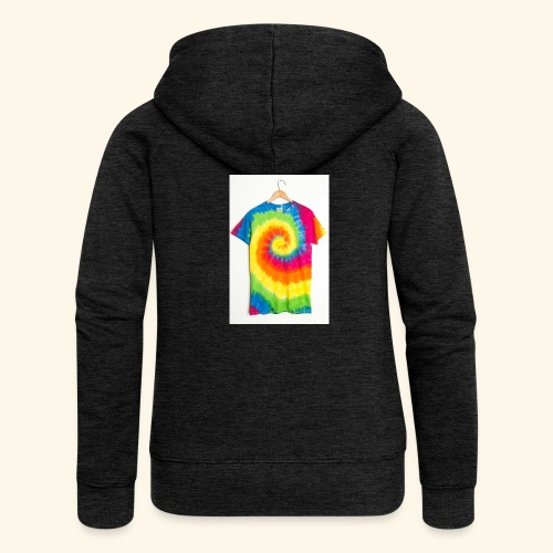 tie die - Women's Premium Hooded Jacket