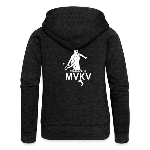 tc mvkv logo - Vrouwenjack met capuchon Premium