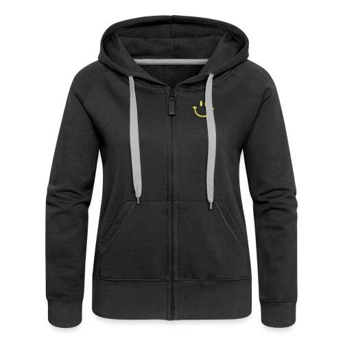 Grau meliert ptb_logo_2010 Pullover - Women's Premium Hooded Jacket